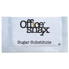 Office Snax Blue Sweetener, 2000 Packets/Carton