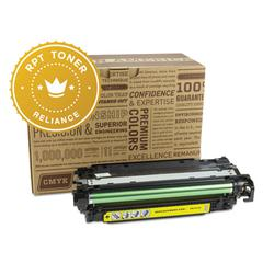 Remanufactured CE252A (504A) Toner, Yellow