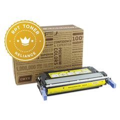 Reliance RPT RELQ6462A Remanufactured Q6462A Toner, 12000 Page-Yield, Yellow