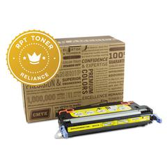 Reliance RPT RELQ6472A Remanufactured Q6472A Toner, 4000 Page-Yield, Yellow