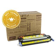 Reliance RPT RELQ7582A Remanufactured Q7582A Toner, 6000 Page-Yield, Yellow
