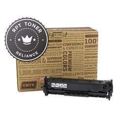 Reliance RPT RELCE410A Remanufactured CE410A Toner, 2200 Page-Yield, Black