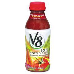 Campbell's Vegetable Juice, 12oz Bottle, 12/Box