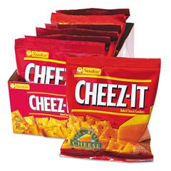 Sunshine Cheez-It Crackers, 1.5oz Single-Serving Snack Pack, 8/Box