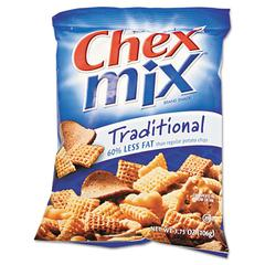 Chex Mix Chex Mix, Traditional Flavor Trail Mix, 3.75oz Bag, 8/Box