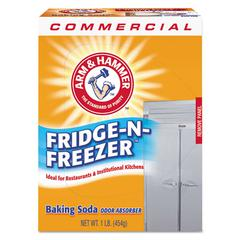 Fridge-N-Freezer Pack Baking Soda, Unscented, Powder, 16 oz., 12/Carton