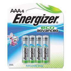 Eco Advanced Batteries, AAA, 4/Pk