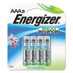 Eco Advanced Batteries, AAA, 8/Pk