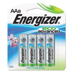 Eco Advanced Batteries, AA, 8/Pk