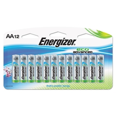 Eco Advanced Batteries, AA, 12/Pk