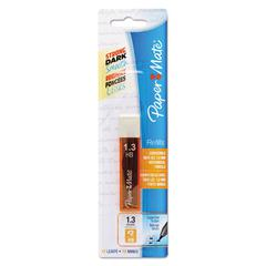 Paper Mate Lead Refills, 1.3 mm, HB, Gray, 12/Pk