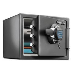 Fire-Safe w/Digital Keypad Access, 0.8 ft3, 16.3 x 19.3 x 13.7, Black