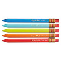 Mates Mechanical Pencils, 1.3 mm, Assorted, 5/Pack