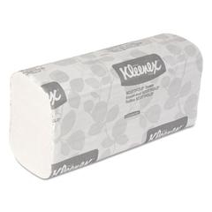 Kleenex SCOTTFOLD Paper Towels, 9 2/5 x 12 2/5, White, 120/Pack, 25 Packs/Carton