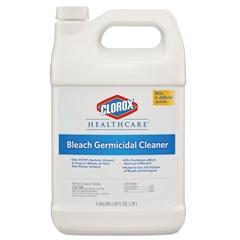 Hospital Cleaner Disinfectant w/Bleach, 128 oz Refill, 4/Carton