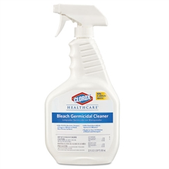 Clorox Healthcare Bleach Germicidal Cleaner, Unscented, 22 oz Spray Bottle