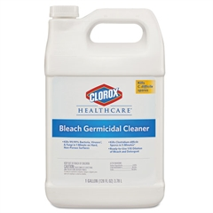 Healthcare Hospital Cleaner Disinfectant w/Bleach, 128 oz Refill