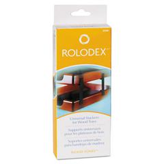 Rolodex Wood Tones Letter/Legal Desk Tray Stackers, 4 Tier, Metal, Black