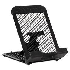 Rolodex Adjustable Mobile Device Mesh Stand, Black