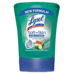 LYSOL No-Touch Hand Soap Refill, 8.5oz, Cucumber & Watermelon