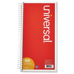 Universal Wirebound Message Books, 5 x 3 3/8, Two-Part Carbonless, 400 Sets/Book