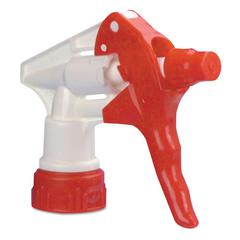 "Trigger Sprayer 250 f/24 oz Bottles, Red/White, 8""Tube, 24/Carton"