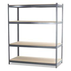 Safco Steel Pack Archival Shelving, 69w x 33d x 84h, Gray