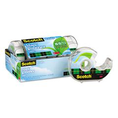 "Magic Greener Tape in Refillable Dispenser, 3/4"" x 600"", 1"" Core, 6/Pack"
