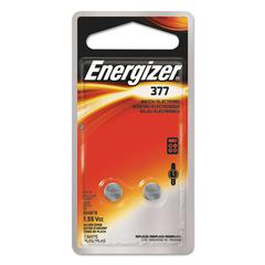 Watch/Electronic/Specialty Battery, 377, 1.5V, 2/Pack