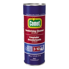 Comet Cleanser with Chlorinol, Powder, 21 oz Canister