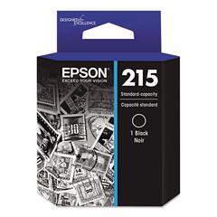 Epson T215120 (215) DURABrite Ultra Ink, Black