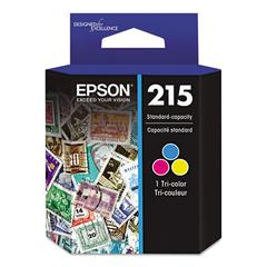 Epson T215530 (215) DURABrite Ultra Ink, Tri-Color