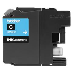 LC10EC INKvestment Super High-Yield Ink, Cyan