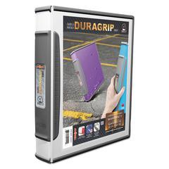 "DuraGrip Binders, 1"" Capacity, White"