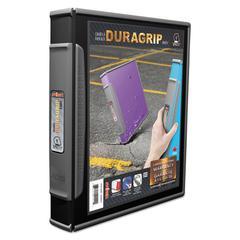 """DuraGrip Binders, 1"""" Capacity, Black"""