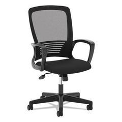 VL525 Mesh High-Back Task Chair, Black
