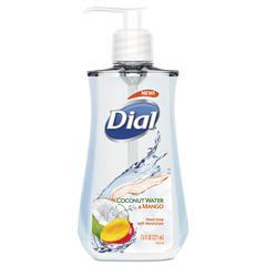 Liquid Hand Soap, 7 1/2 oz Pump Bottle, Coconut Water & Mango,12/Crtn
