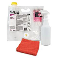 Crew Concentrated Shower, Tub & Tile Cleaner, Fresh Scent,0.172L Smart Mix Pack