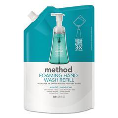 Foaming Hand Wash Refill, Waterfall, 28 oz Pouch, 6/Carton