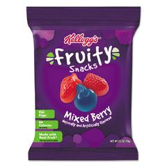 Fruity Snacks, Mixed Berry, 2.5oz Bag, 48/Carton
