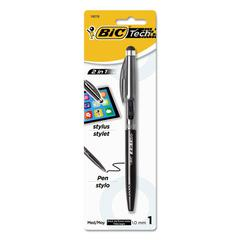 Tech 2 in 1 Stylus Pen, Silver