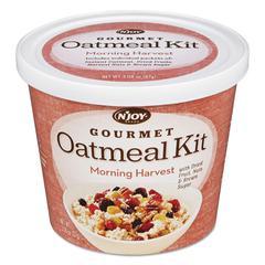 Gourmet Oatmeal Kit, Morning Harvest, 3.08 oz Bowl, 8/PK