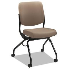 HON Perpetual Series Mobile Nesting Chair, Morel Upholstery