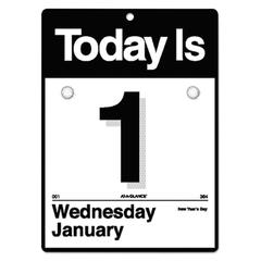 """""""Today Is"""" Wall Calendar, 6 5/8 x 9 1/8, White, 2017"""