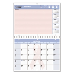 QuickNotes Special Edition Vertical Wall Calendar, 11 x 8, 2017