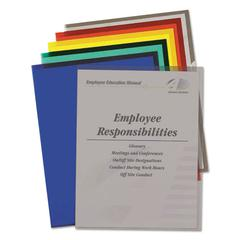 Project Folders, Jacket, Letter, Poly, Assorted Colors, 25/Box