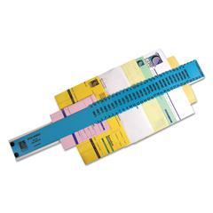 General Sorter, A-Z/1-31/1000-1,000,000 Index, Letter Size, Plastic, Blue