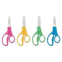 "Westcott Kids Scissors, 5"" Blunt, Assorted Colors"