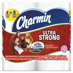 Ultra Strong Bathroom Tissue, 2-Ply, 4 x 3.92, 154 Sheets/Roll, 4 Rolls/Pack