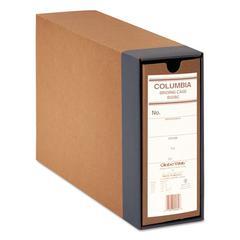 "COLUMBIA Recycled Binding Cases, 2 1/2"" Cap, 11 x 8 1/2, Kraft"